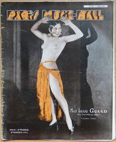 Miss Lulu Gould du Casino de Paris. Paris Music-Hall No. 234, 1 Avril 1931. [Pinned 31-v-2016]