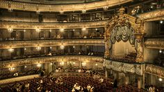 Opera or ballet at the Mariinsky Theatre, St. Petersburg, Russia #travel #russia #saintpetersburg #2see #art #dance #theather