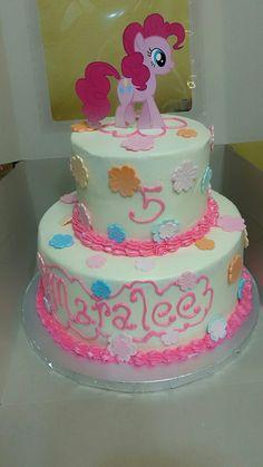 My Little Pony Pinkie Pie birthday cake