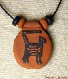 Native American Primitive Cat Pendant Necklace Mimbres Tribe ~SECRET CANYON~ http://www.amazon.com/dp/B00KE7ZFWW/ref=cm_sw_r_pi_dp_7IShub15YH09Q