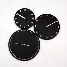 HMS Wall Clock Black now featured on Fab.