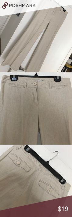 New York & Company Pants Beautiful New York & Company tan color pants worn a few times. Super lightweight and comfortable, perfect for spring and summer. Size 4 women's. New York & Company Pants