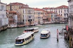 Italy: Venice. -Venice is remarkably small. You can walk across it, from head to tail, in about an hour!