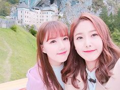 Yerin and SinB ~ When will I ever be as pretty as them