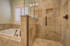 27 Divine Stone Bathroom Remodel Ideas : Beyond Words stone bathroom remodel Ideas. Bathroom Remodeling Contractors, Bathroom Renovations, Bathroom Ideas, Bathroom Showers, Budget Bathroom, Bathroom Inspiration, Contemporary Bathroom Lighting, Douche Design, Shower Wall Panels