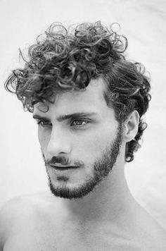 Curly Hair Men