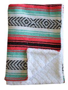 Baja Baby™ Mexican Baby Blanket -Cali