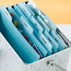 Want to organize your scrapbook supplies? 10 ideas to help.