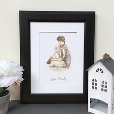 Favourite+Person+Hand+Drawn+Illustration, £63.00