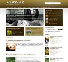Wireline Wordpress Theme