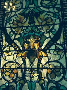 Tiffany glass at Flagler college in St. Augustine