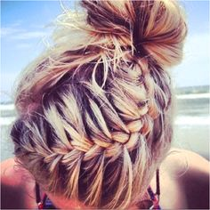 i wish i could do thses cool things to my hair every day!