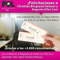 Ganadores Concurso The Killers