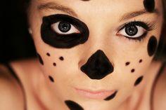 Image result for dalmatian face makeup