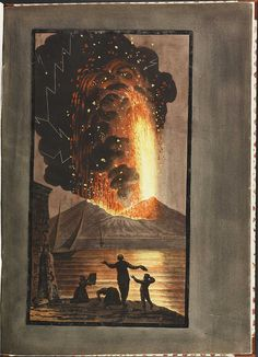 Plate 2, eruption of Mt. Vesuvius, 1779 August 8 (supplement) by peacay, via Flickr