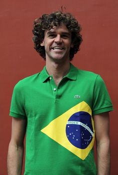 Behind the scenes with tennis legend Gustavo Kuerten and Lacoste Creative Director Felipe Oliveira Baptista #Guga