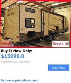 rvs: 2016 Forest River Grey Wolf 26Ckse Limited - Bunks - Slide Out - Low Price BUY IT NOW ONLY: $15999.0 #priceabatervs OR #priceabate