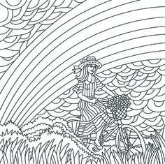 Desenho Paper Color 05 Arco-Íris - Iara Capraro