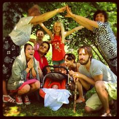 Holy summer family