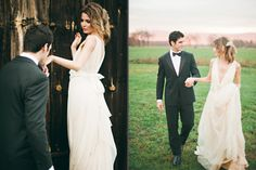 Hudson Valley Luxe Affair // Trent Bailey Photography.  This husband and wife photography team is adorable.