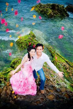 Wedding Couple in Taiwan