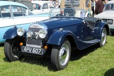Traditional style blended with more modern concepts of size and weight, the Plus 4 was an attractive option on the English auto market. It eventually shared an engine with the Triumph TR3.