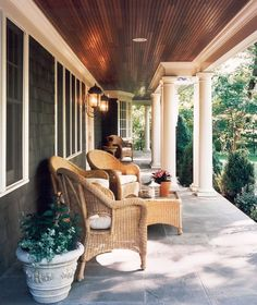 Of all the summertime activities that we look forward to throughout the year, spending time on the porch just might be our favorite. Whether it can accommodate dinner for 12 or only a couple of rocking chairs, from the beginning of summer to the first hint of fall the porch is an undeniably inviting space and the perfect perch from which to take in summer's beauty.