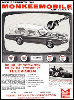 1967 Monkeemobile Model Kit
