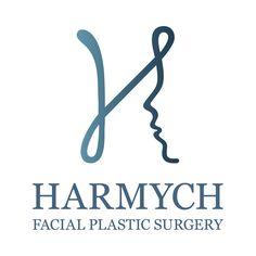 Harmych Facial Plastic Surgery - Custom Logo Design (Cleveland, Ohio) #logo