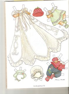 Sew Beautiful paper doll Cecile 2 by Lagniappe*Too, via Flickr