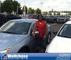 #HappyAnniversary to Mode Phillips on your 2013 #Chrysler #200 from Albert Brown at Wolfchase Chrysler Jeep Dodge!