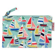 Little Boats Zip Purse | Purses & Wallets | CathKidston