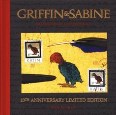 Griffin & Sabine (series) by Nick Bantock...loved this series