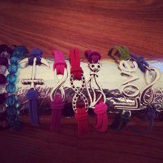 Cute infinity charm bracelets