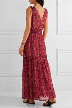 Ulla Johnson | Chantelle printed silk-georgette maxi dress | NET-A-PORTER.COM