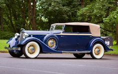 1934 Lincoln KB Convertible Sedan:  Type 281 by Dietrich