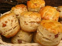 Canapes, Baked Potato, Muffin, Pizza, Bread, Cheese, Baking, Breakfast, Ethnic Recipes