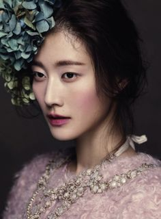 Asian + Berry Flush Make-up