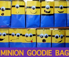 My son is in love with the Minions from the Despicable Me franchise. And what's not to love? These little yellow guys have us cracking up every time they are on screen. So when it came time to have my son's birthday party, we decided a Minion theme would be perfect. There are some cute licensed items out there for your Minion party, but being crafty, I wanted to make a few things to add my own touch. I came up with the idea for these Minion Party Favor Bags and they turned out so cute that…