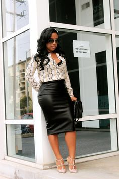 Chic Professional Woman Outfit. Major Must Haves