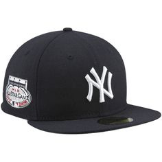 c4dfaa00 New Era New York Yankees 2008 Cooperstown All-Star Patch 59FIFTY Fitted Hat  - Navy