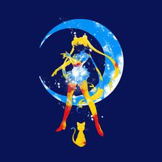 "Image result for ""moon splash"" sailor moon"