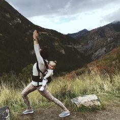 Babywearing Yoga by actively.natalie
