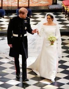 See the First Photos of the Beautiful Bride in Her Givenchy Dress at the Royal Wedding- TownandCountrymag.com
