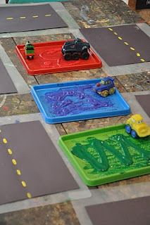 truck driving craft - love the simple road