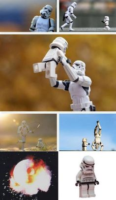 Bet you never thought of the Stormtroopers families...