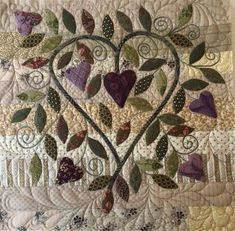 Vintage Heart Quilt | Sharon Keightley Quilts