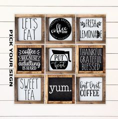 Everyday Home Family Mini Farmhouse Style Signs for Tiered Tray. Tiered Tray Decor, Coffee Bar Sign, Framed Mini Sign, Home Mini Signs Bathroom Shelf Decor, Bathroom Signs, Bathroom Ideas, Basement Bathroom, Bathroom Art, Funny Bathroom Decor, Vanity Bathroom, Simple Bathroom, Washroom