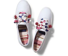 The Social Foot - Instant mood lifters for the ladies! The much anticipated Keds x Kate Spade collection is here.