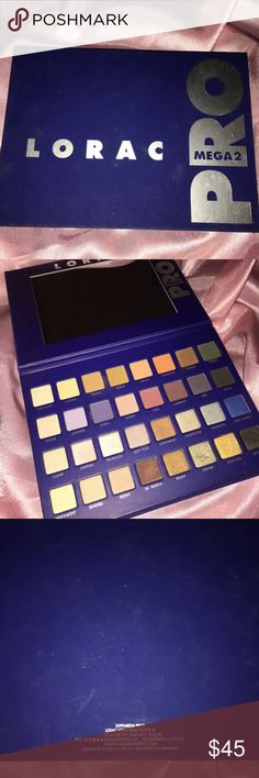 Lorac Mega Pro 2 Palette Not available anymore  Authentic  Used a few times but I don't reach for it anymore Sanitized  Iffy about selling it. If not sold in a couple of weeks I'll keep it. Sephora Makeup Eyeshadow